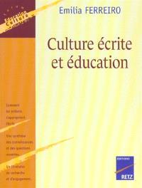 Culture écrite et éducation