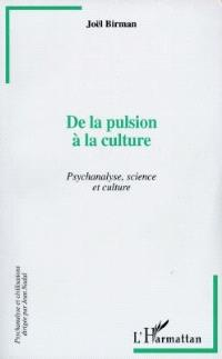De la pulsion à la culture : psychanalyse, science et culture