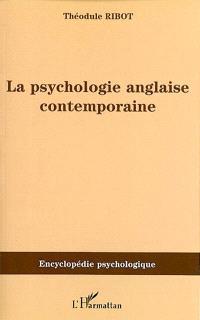 La psychologie anglaise contemporaine