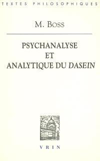 Psychanalyse et analytique du Dasein