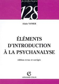 Eléments d'introduction à la psychanalyse