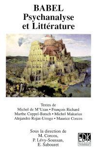 Babel : psychanalyse et littérature