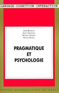 Pragmatique et psychologie