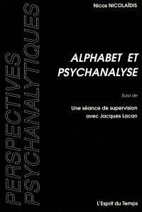 Alphabet et psychanalyse