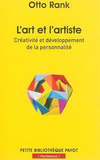 L'art et l'artiste : créativité et développement de la personnalité
