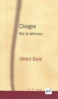 Clivages : moi et défenses