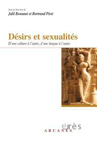 Désirs et sexualités : d'une culture à l'autre, d'une langue à l'autre