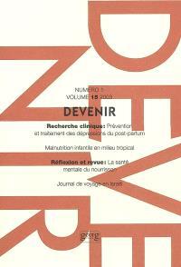 Devenir. n° 1 (2003)
