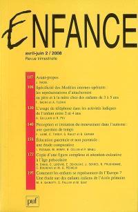 Enfance. n° 2 (2008)
