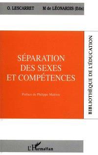 Séparation des sexes et compétences