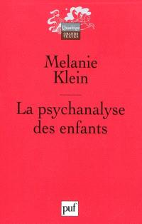 La psychanalyse des enfants