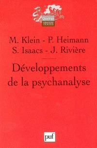 Développements de la psychanalyse