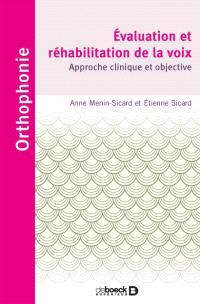 Evaluation et réhabilitation de la voix : approche clinique et objective