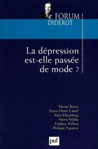 La dépression est-elle passée de mode ?