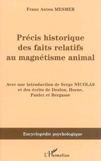 Précis historique des faits relatifs au magnétisme animal : 1781