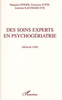 Des soins experts en psychogériatrie : méthode GSR
