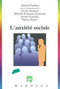 L'anxiété sociale