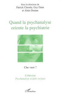 Quand la psychanalyse oriente la psychiatrie : le transfert dans l'institution sectorielle, actes du colloque du 8 mars 2005 à Evry-Corbeil