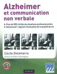 Alzheimer et communication non verbale : plus de 500 clichés de situtations professionnelles, Sémacorps, logiciel d'évaluation de la qualité de vie