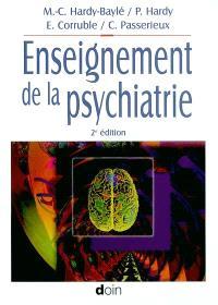 Enseignement de la psychiatrie