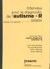 Interview pour le diagnostic de l'autisme-R : recherche