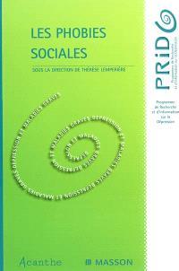 Les phobies sociales