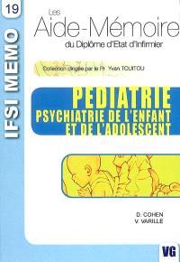 Pédiatrie, psychiatrie de l'enfant et de l'adolescent