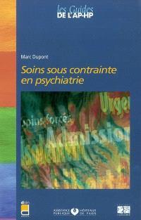 Soins sous contrainte en psychiatrie