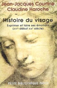 Histoire du visage : exprimer et taire ses émotions (du XVIe siècle au début XIXe siècle)