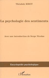 La psychologie des sentiments : 1896