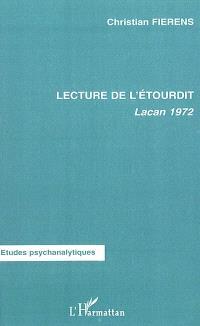 Lecture de L'étourdit : Lacan 1972