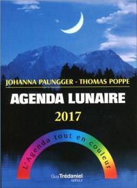 Agenda lunaire 2017 : l'agenda tout en couleur
