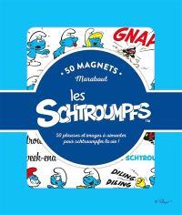 50 magnets les Schtroumpfs : 50 phrases et images à aimanter pour schtroumpfer la vie !