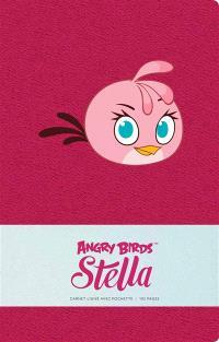 Angry birds Stella : carnet ligné avec pochette