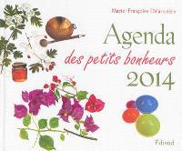 Agenda des petits bonheurs 2014