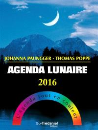 Agenda lunaire 2015 : l'agenda tout en couleur