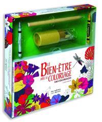 Le bien-être avec le coloriage : 100 coloriages