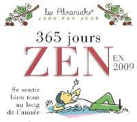 365 jours zen en 2009 : se sentir bien tout au long de l'année