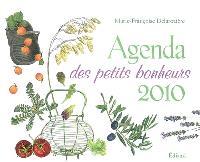 Agenda des petits bonheurs : 2010
