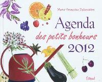 Agenda des petits bonheurs 2012