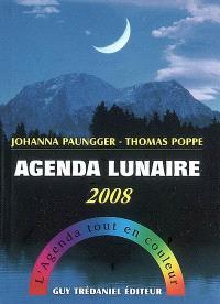 Agenda lunaire 2008 : l'agenda tout en couleur