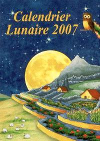 Calendrier lunaire 2007