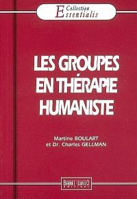 Les groupes en thérapie humaniste