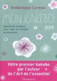 Mon kakebo : cahier de comptes japonais 2011