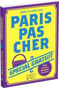 Paris pas cher : spécial gratuit