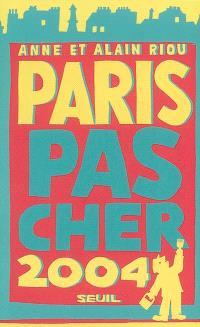Paris pas cher 2004