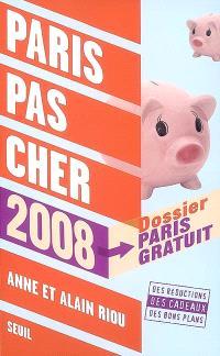 Paris pas cher 2008