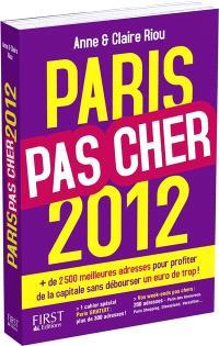 Paris pas cher 2012