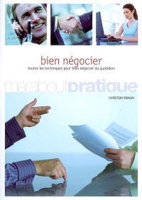 Principes et tactiques pour bien négocier