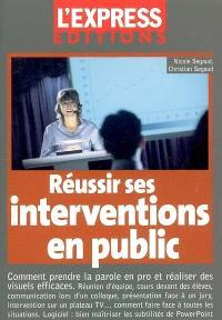 Réussir ses interventions en public : comment prendre la parole en pro et réaliser des visuels efficaces